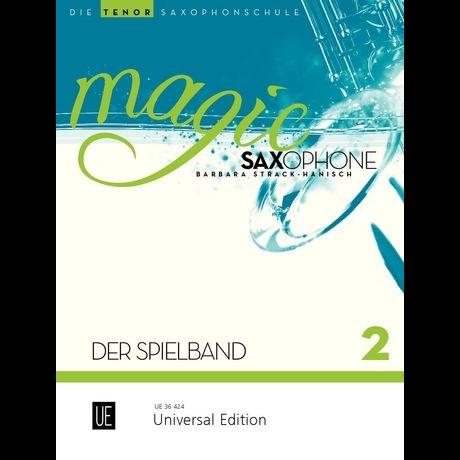 Magic Saxophone Spielbuch 2 für Tenorsaxophon +CD - UE 36424