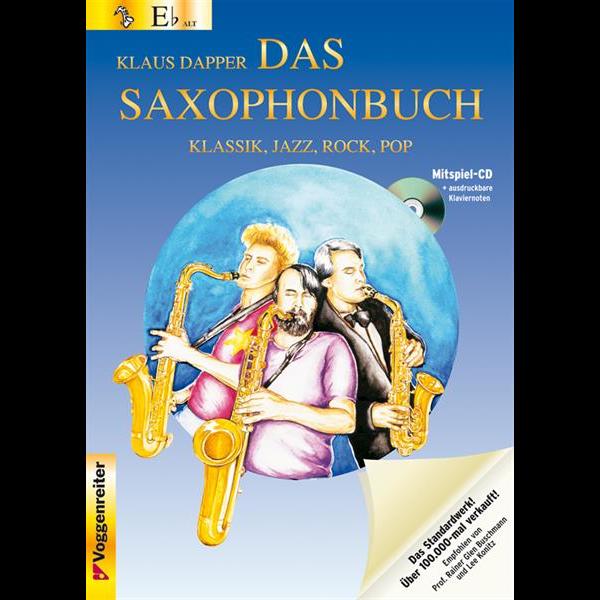Das Saxophonbuch Band 1 für Alt-/Baritonsaxophon (+CD) - 0512-9