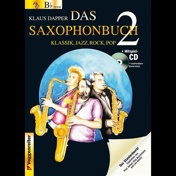 Das Saxophonbuch Band 2 für Sopran- / Tenorsaxophon (+CD) - 0613-6