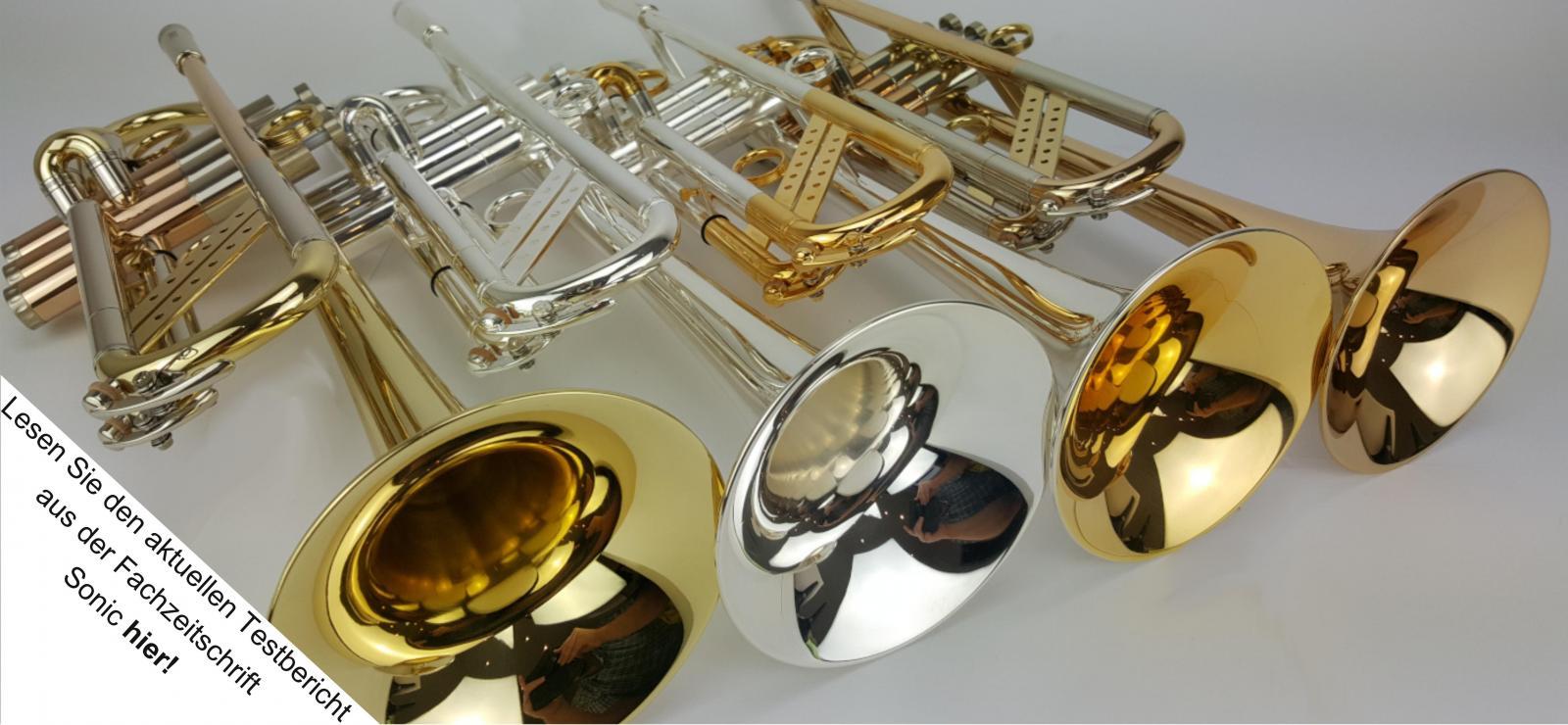 Ralf Radermacher Handmade Trompeten <br> <br> Erfahre hier mehr!