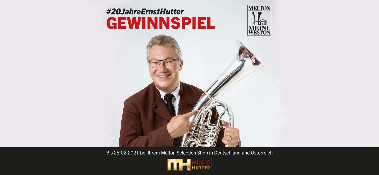 Gewinne ein Wohnzimmerkonzert mit Ernst Hutter! <br> <br>Weitere Informationen hier!