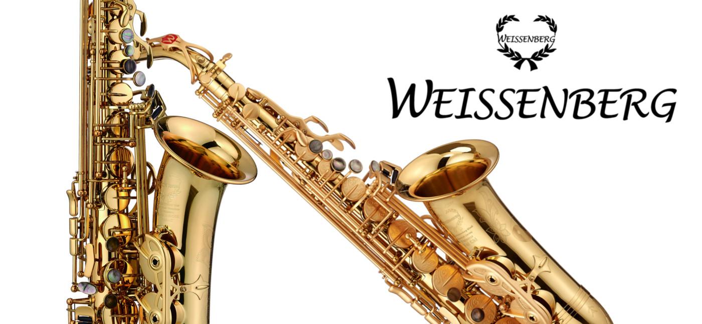 WEISSENBERG Saxophone <br> <br> Entdecken Sie die neuen hochwertigen Saxophone!