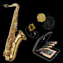 YANAGISAWA T-WO1 Professional Tenorsaxophon Reinigungs-Set mit Blatt-Etui