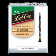 Rico LA VOZ Blätter für Bb-Klarinette  MH