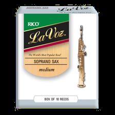 Rico LA VOZ Blätter für Sopransaxophon M