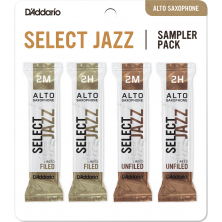 D'ADDARIO SELECT JAZZ Sampler Pack 2M/2H