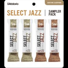 D'ADDARIO SELECT JAZZ Sampler Pack 3S/3M