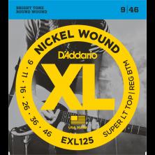 D'Addario Saiten für E-Gitarre, EXL125