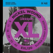 D'Addario Saiten für E-Gitarre, EXL120