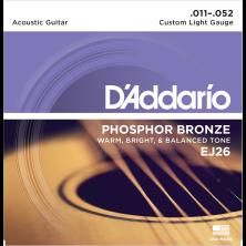 D'Addario Saiten für Akustikgitarre, EJ26