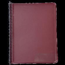 STAR Marsch-Notenmappe 245/10T Rot